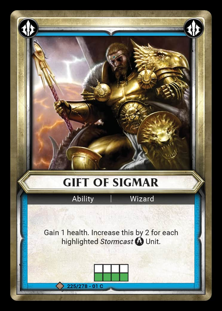 Gift of Sigmar | Game Haven