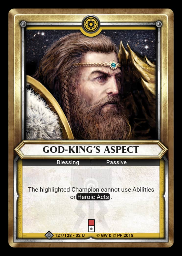 God-King's Aspect | Game Haven