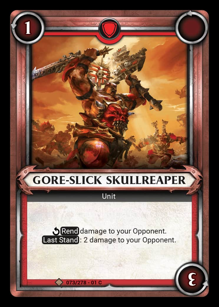 Gore-Slick Skullreaper | Game Haven