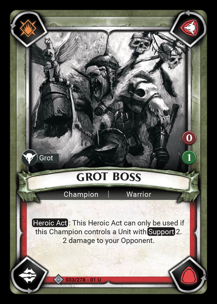 Grot Boss | Game Haven