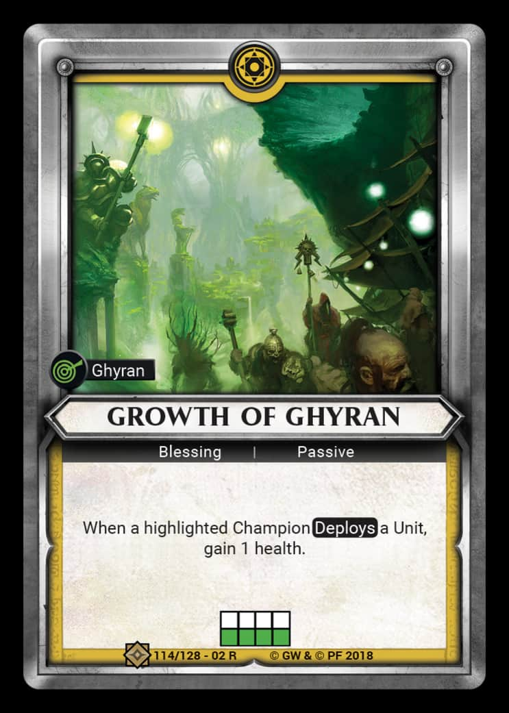 Growth of Ghyran | Game Haven