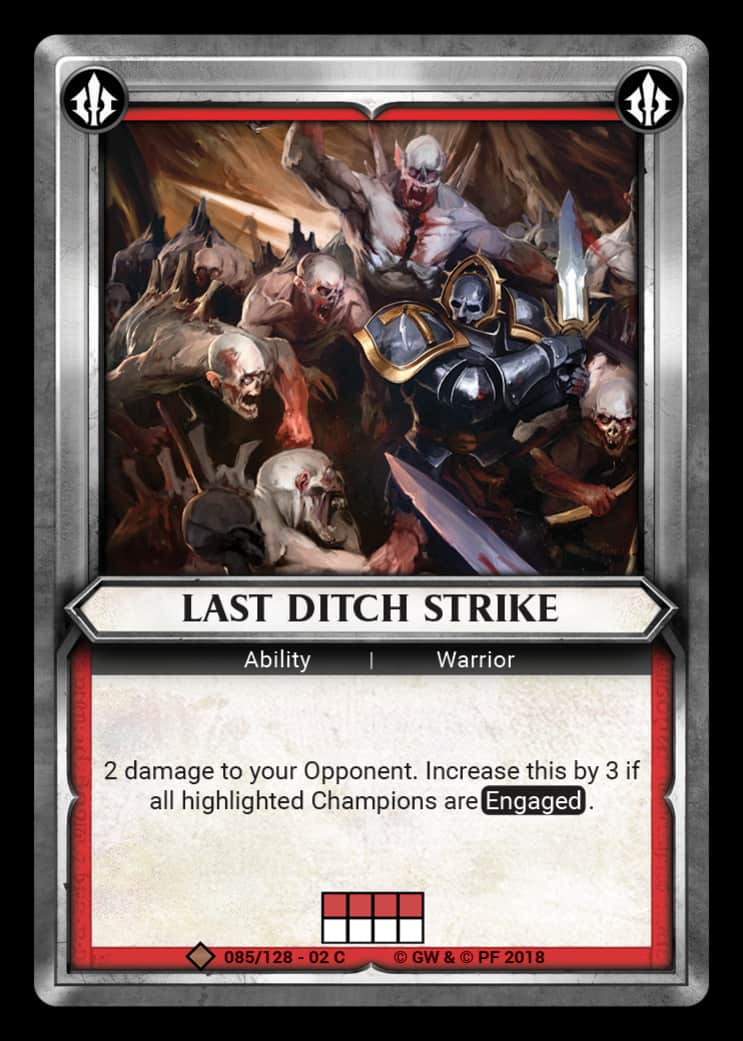 Last Ditch Strike | Game Haven