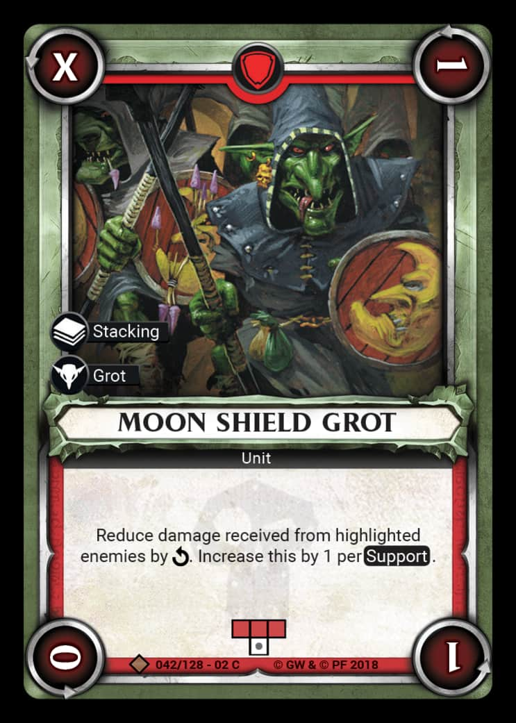 Moon Shield Grot | Game Haven