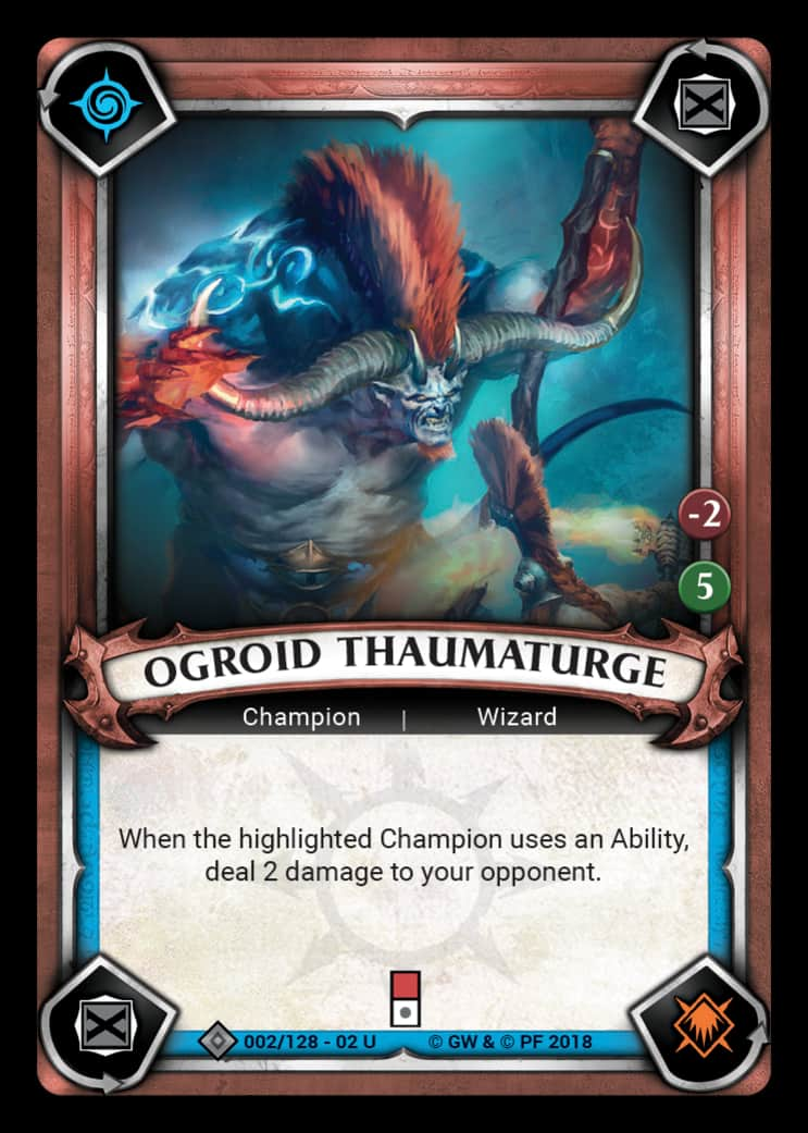 Ogroid Thaumaturge | Game Haven