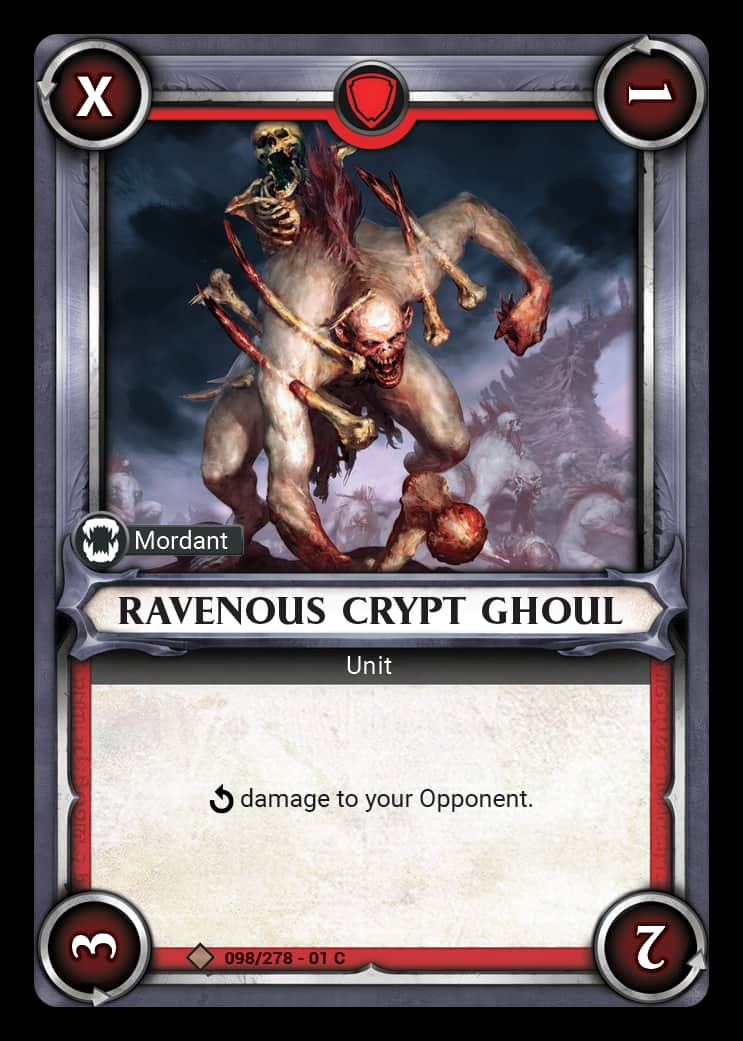 Ravenous Crypt Ghoul | Game Haven