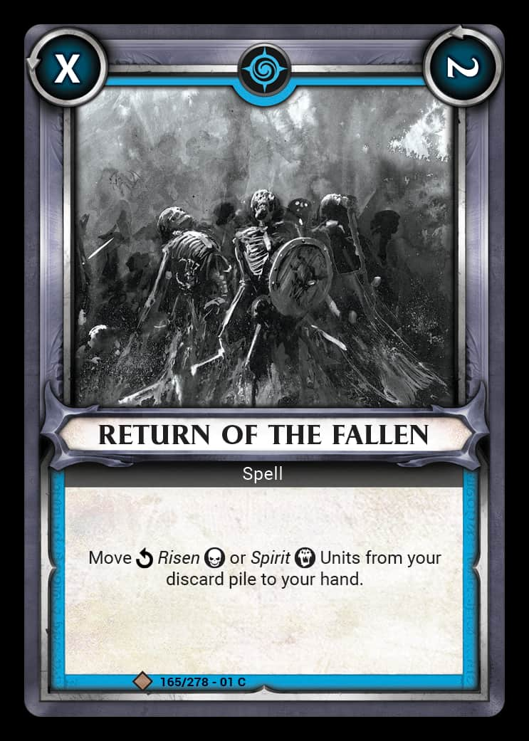 Return of the Fallen | Game Haven