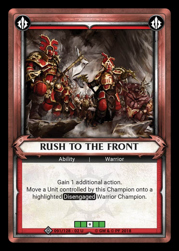 Rush to the Front | Game Haven