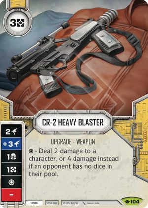 CR-2 Heavy Blaster