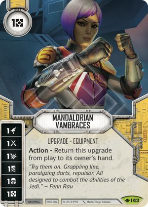 Mandalorian Vambraces | Game Haven