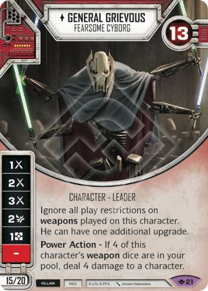 General Grievous - Fearsome Cyborg | Game Haven