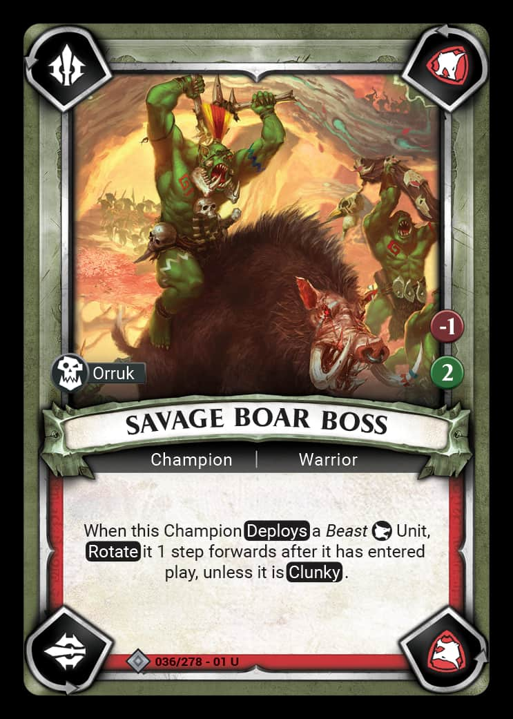 Savage Boar Boss | Game Haven