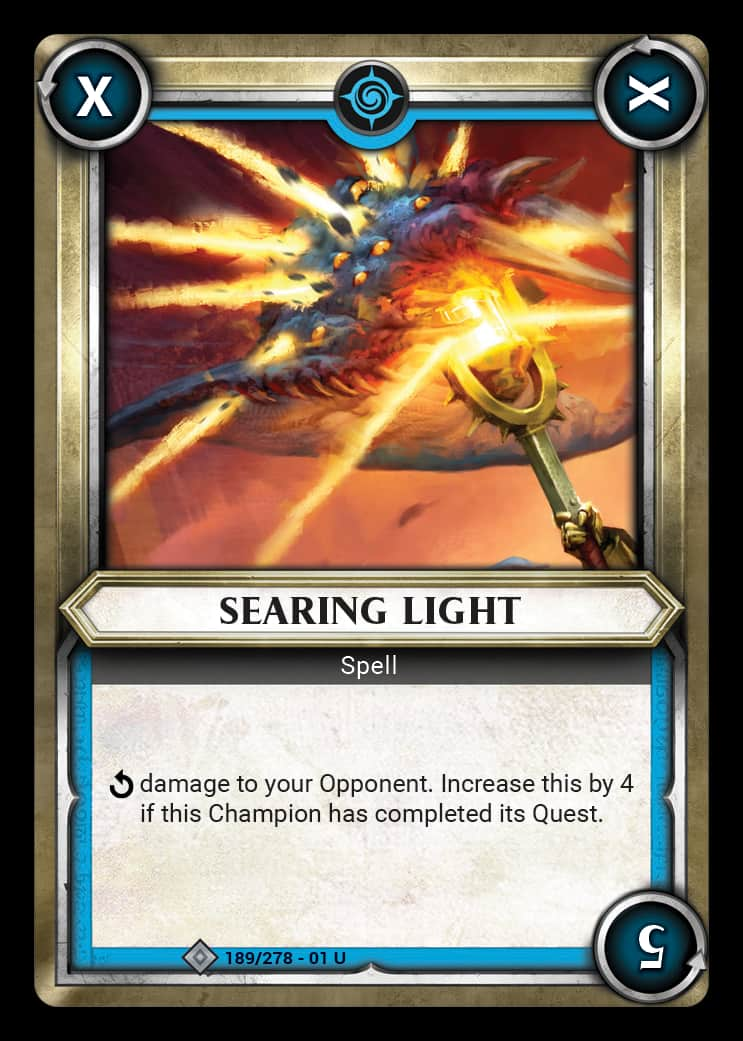 Searing Light | Game Haven