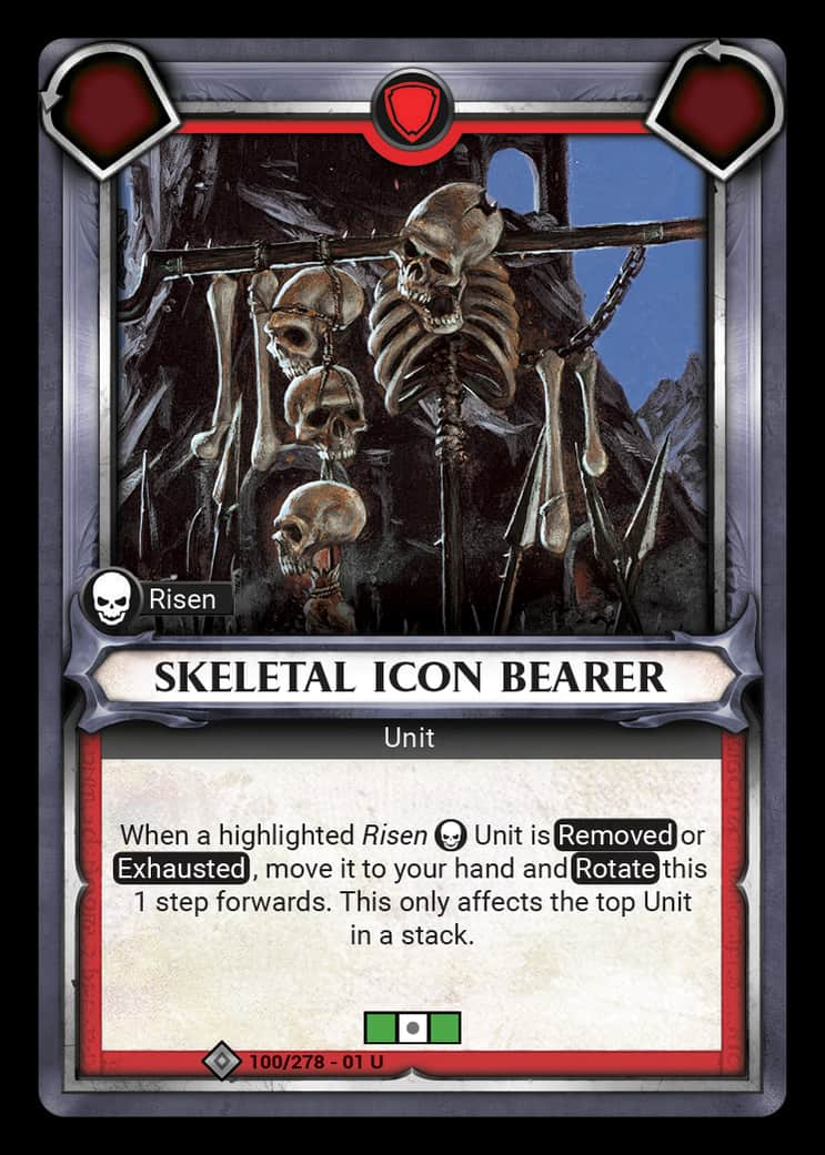 Skeletal Icon Bearer | Game Haven