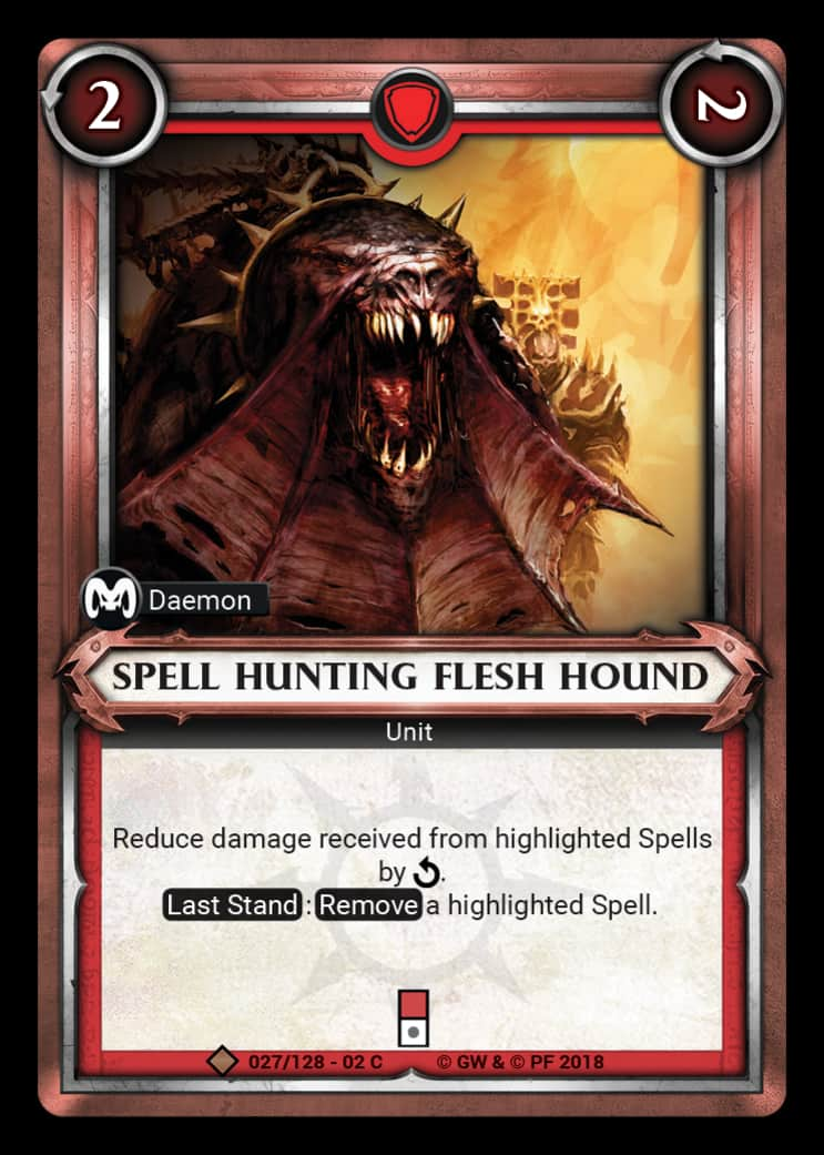 Spell Hunting Flesh Hound | Game Haven
