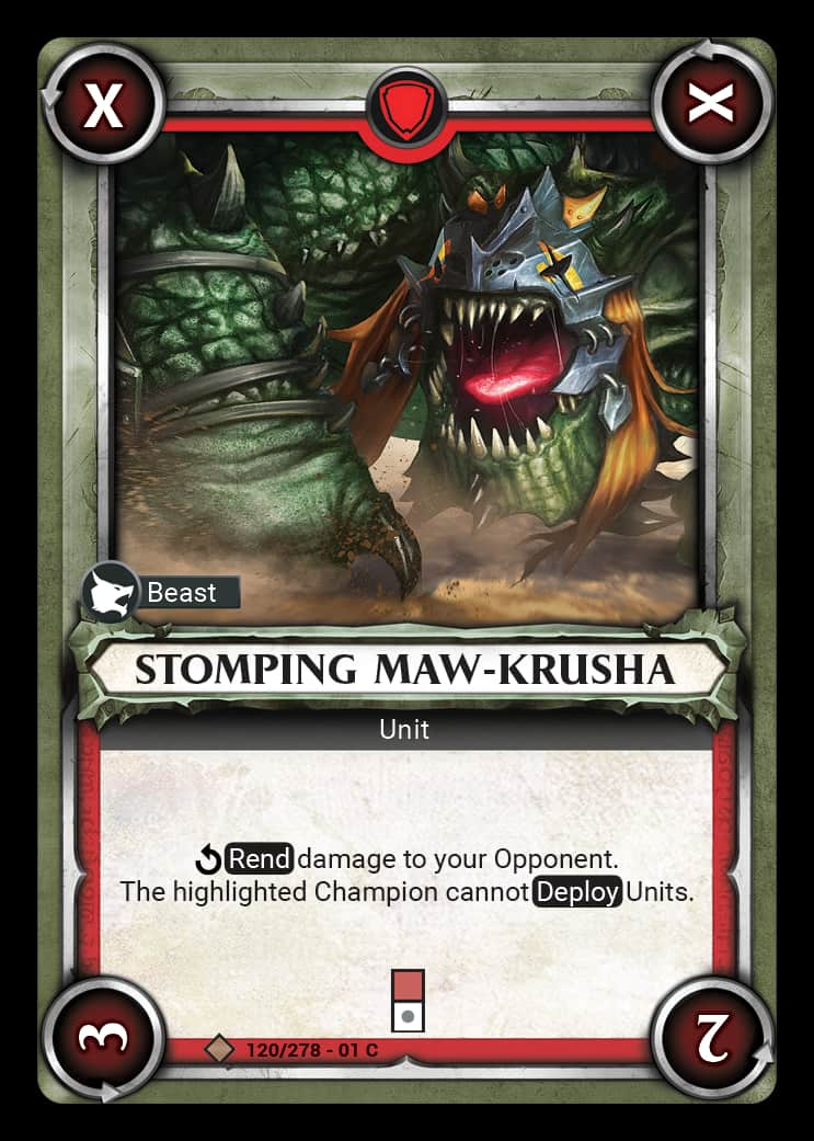Stomping Maw-Krusha | Game Haven