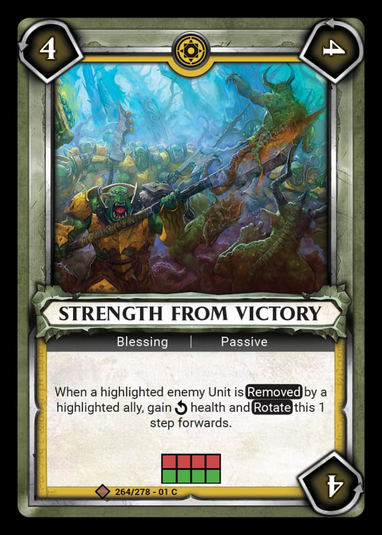 Strength From Victory | Game Haven