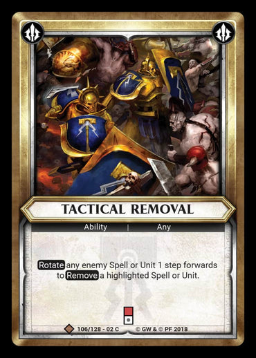 Tactical Removal