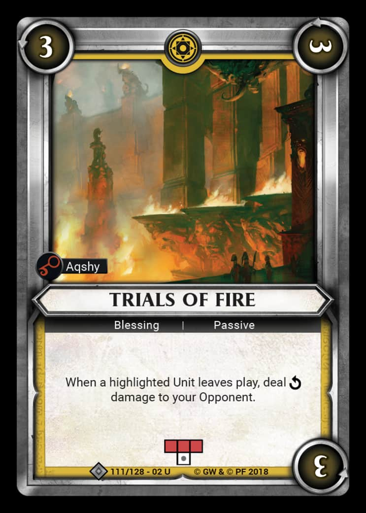 Trials of Fire | Game Haven