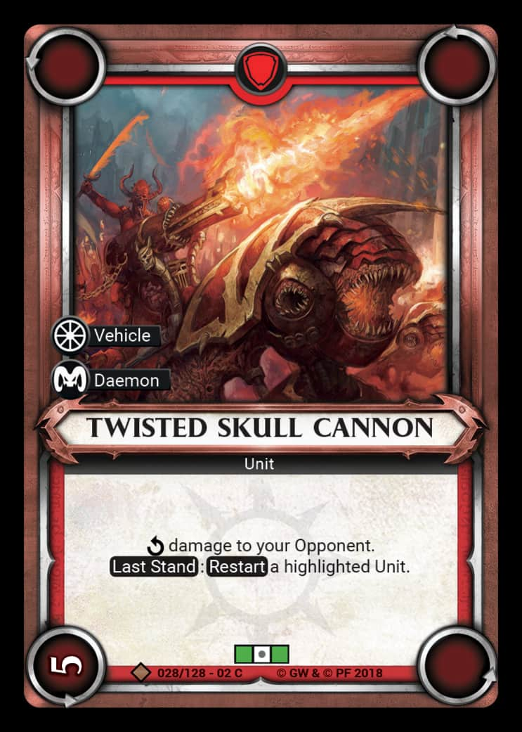 Twisted Skull Cannon | Game Haven