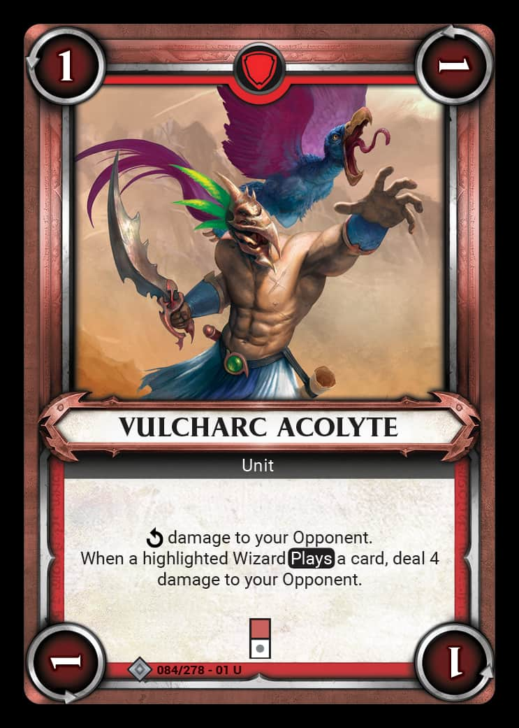 Vulcharc Acolyte | Game Haven