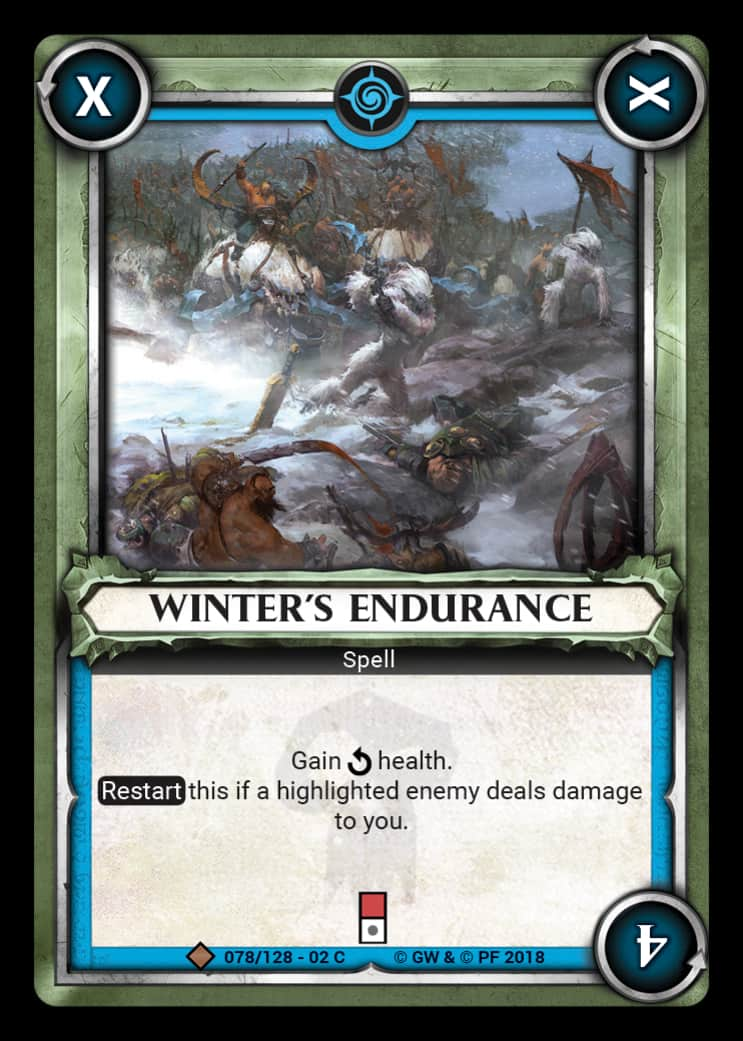 Winter's Endurance | Game Haven