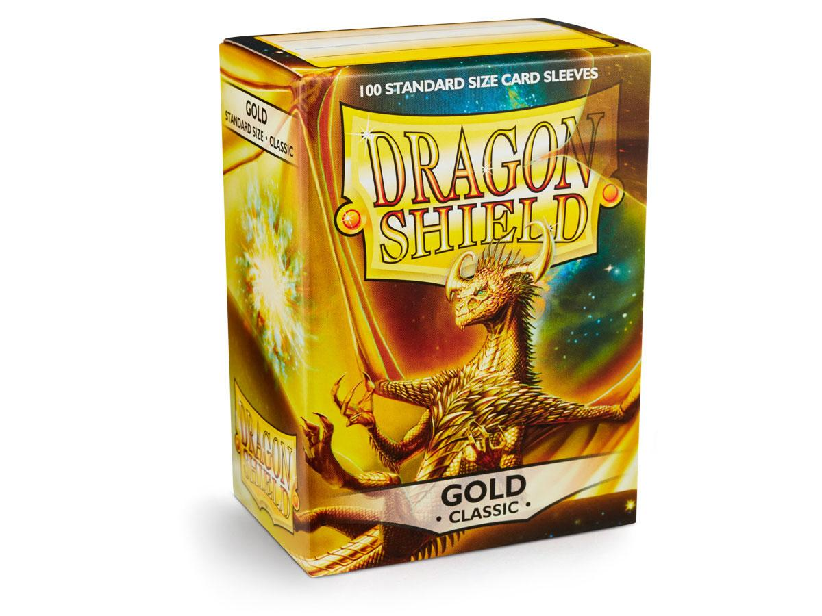 Dragon Shield: Classic Sleeves Gold | Game Haven