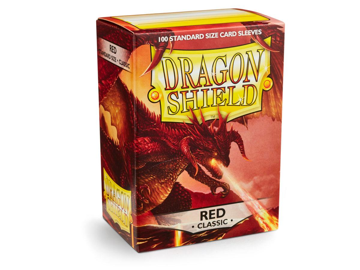 Dragon Shield: Classic Sleeves Red | Game Haven