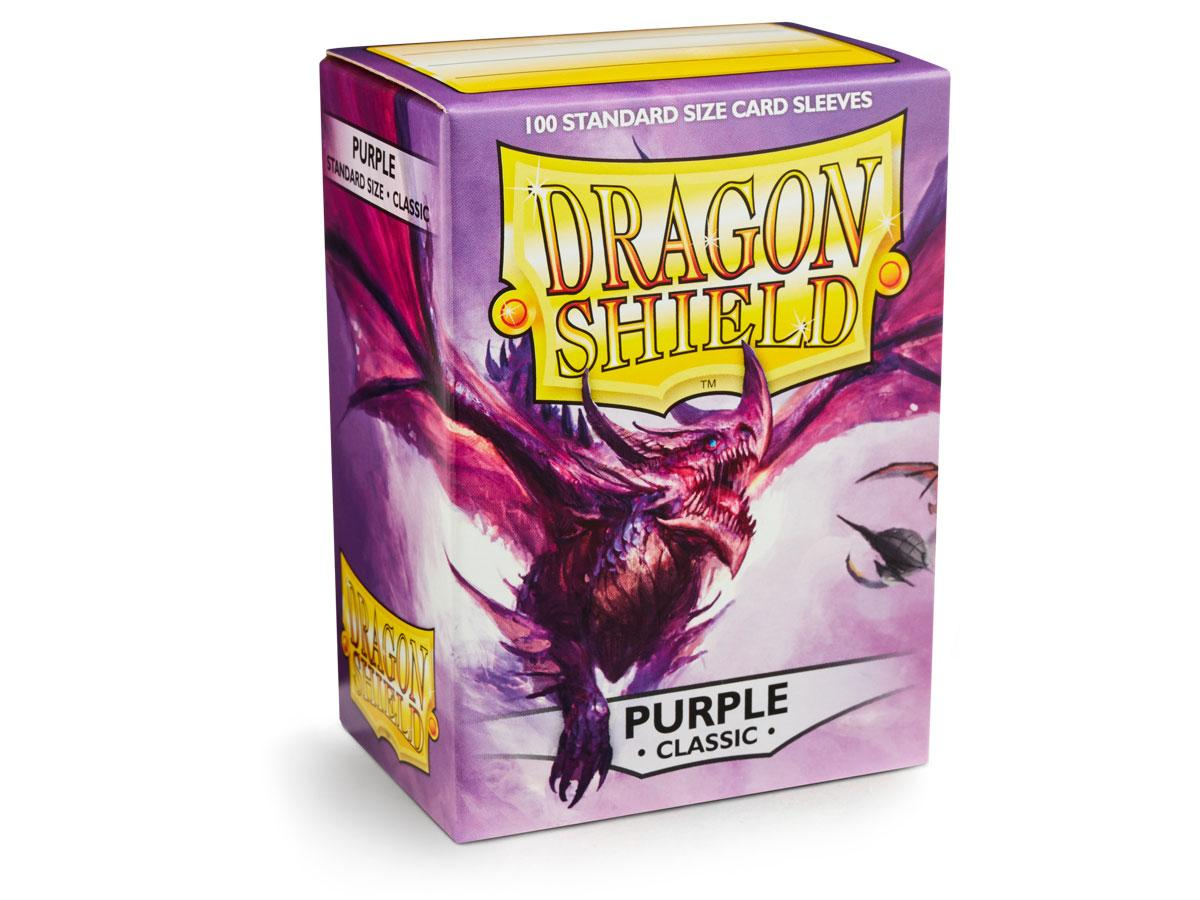 Dragon Shield: Classic Sleeves Purple | Game Haven