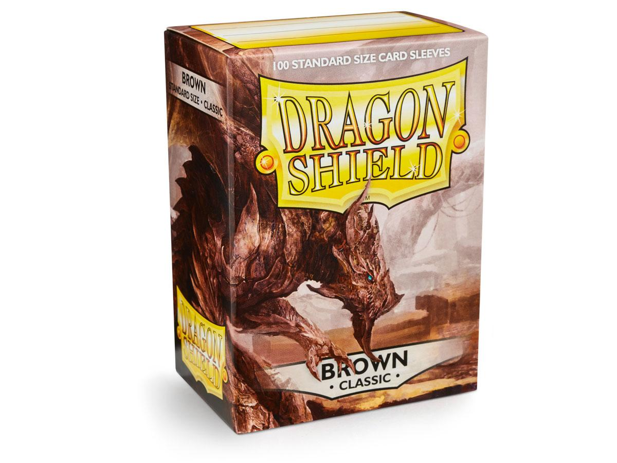 Dragon Shield: Classic Sleeves Brown | Game Haven