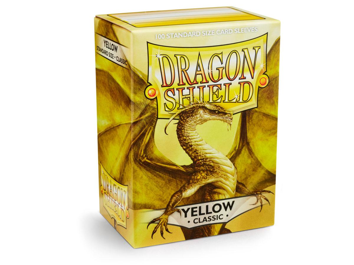Dragon Shield: Classic Sleeves Yellow | Game Haven