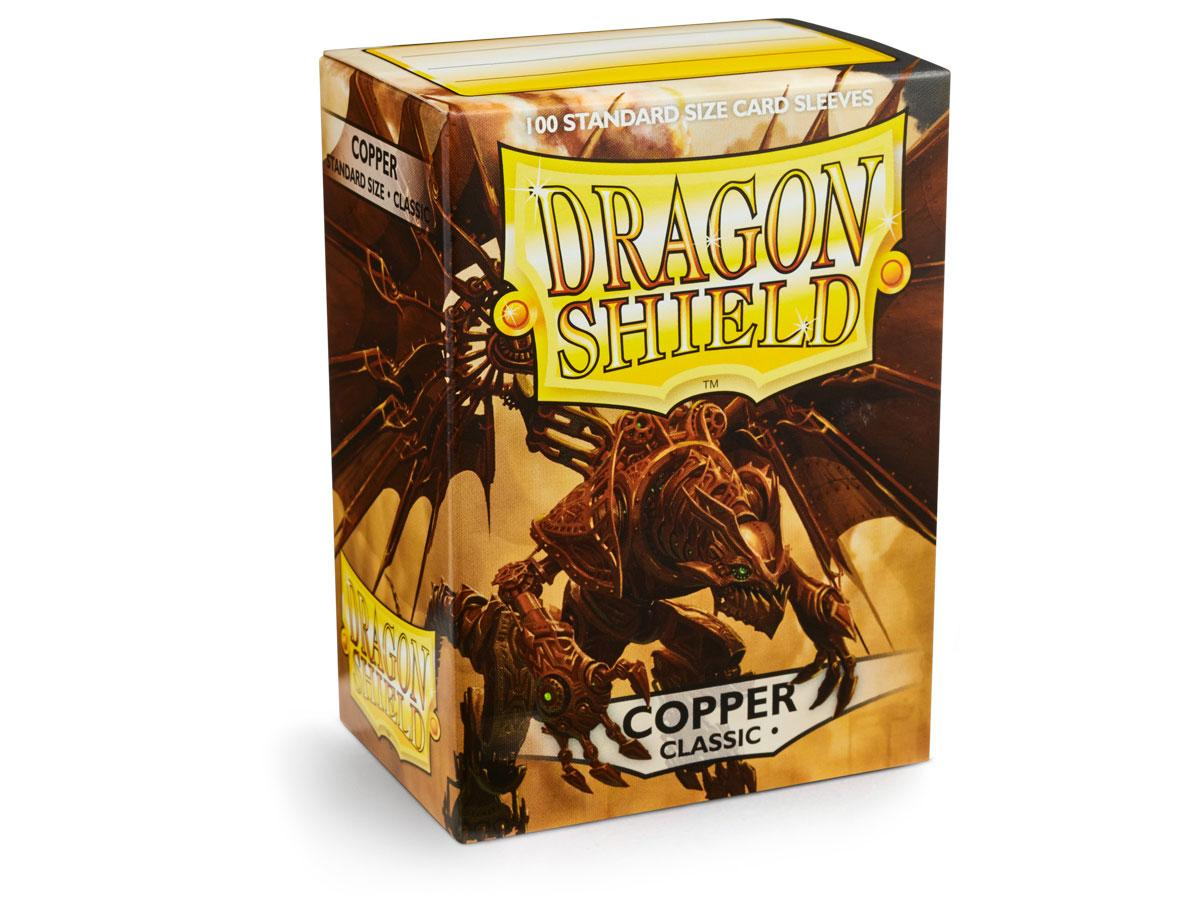 Dragon Shield: Classic Sleeves Copper | Game Haven