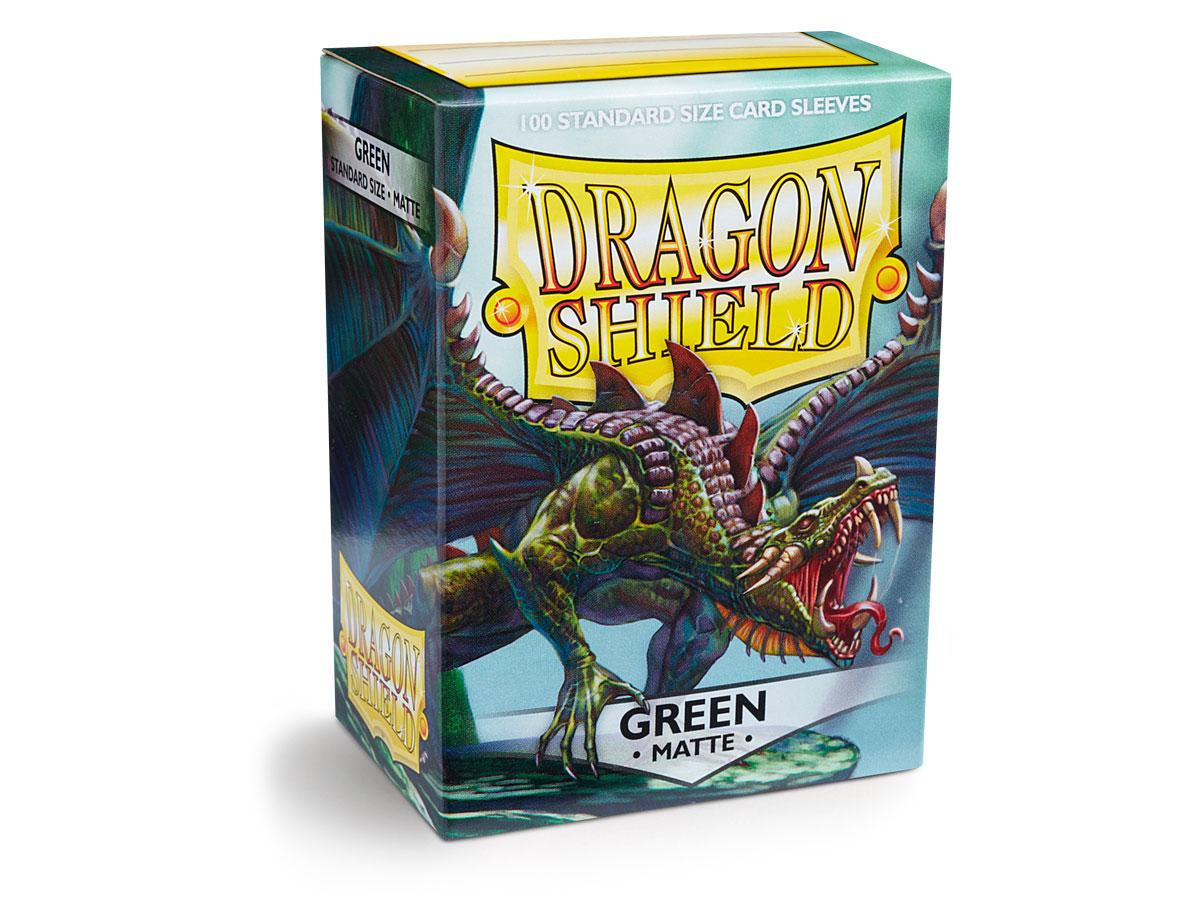 Dragon Shield: Matte Sleeves Green | Game Haven