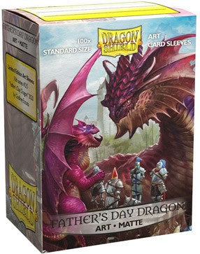 Dragon Shield: Matte Art Sleeves - 2020 Father's Day Dragon | Game Haven