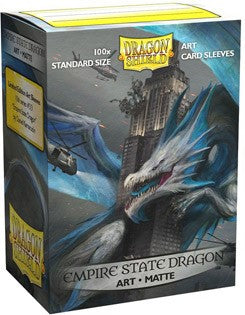 Dragon Shield: Matte Art Sleeves - Empire State Dragon | Game Haven