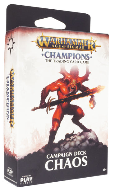 Warhammer Age of Sigmar: Champions Campaign Deck - Chaos