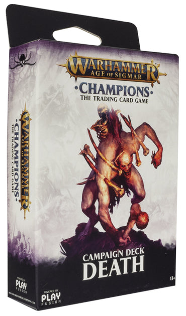 Warhammer Age of Sigmar: Champions Campaign Deck - Death