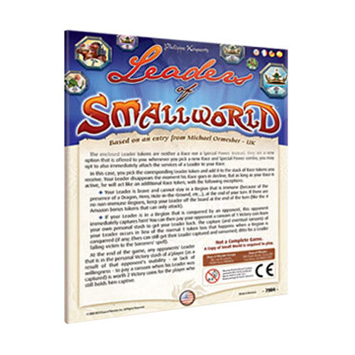 Small World: Leaders of Small World | Game Haven