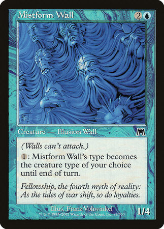 Mistform Wall [Onslaught] | The Game Haven