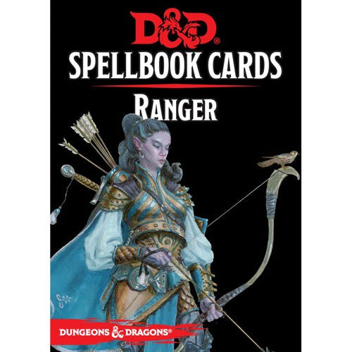 Dungeons & Dragons 5th Edition RPG: Spellbook Cards - Ranger | Game Haven