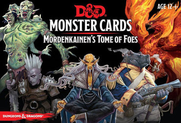 Dungeons & Dragons 5th Edition RPG: Spellbook Cards - Monster Cards Mordenkainen's Tome of Foes