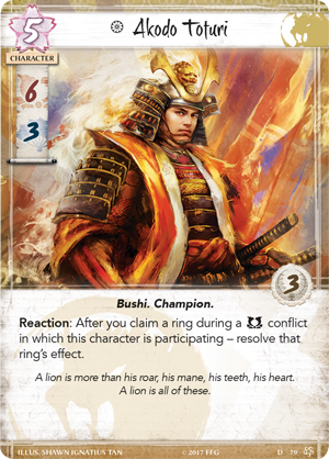Legend of the Five Rings: Core Set - Lion