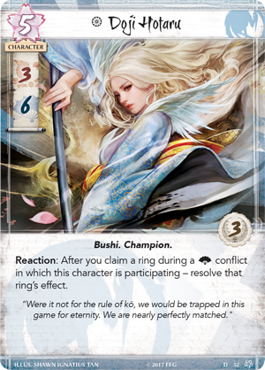 Legend of the Five Rings: Core Set - Crane