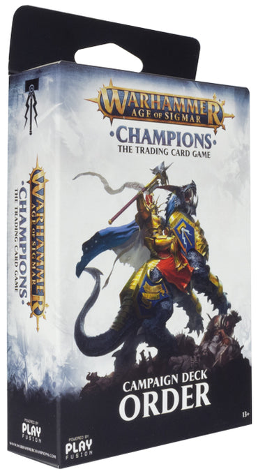 Warhammer Age of Sigmar: Champions Campaign Deck - Order