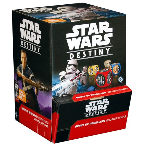 Star Wars Destiny: Spirit of Rebellion Booster Box  -  FREE SHIPPING! | Game Haven