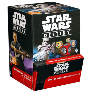 Star Wars Destiny: Spirit of Rebellion Booster Box  -  FREE SHIPPING!