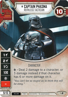 Captain Phasma - Ruthless Tactician