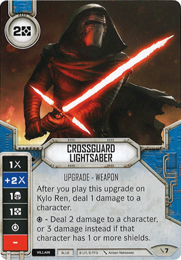 Crossguard Lightsaber | Game Haven