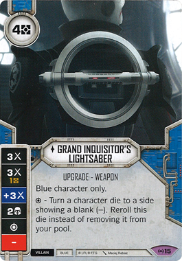 Grand Inquisitor's Lightsaber