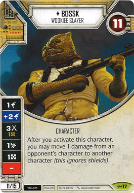 Bossk - Wookiee Slayer | Game Haven