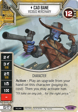 Cad Bane - Vicious Mercenary | Game Haven